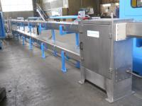 high speed multipass cooling trough